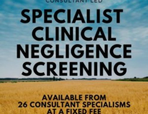2 Simple Steps to Excellent Screening in Clinical Negligence Cases