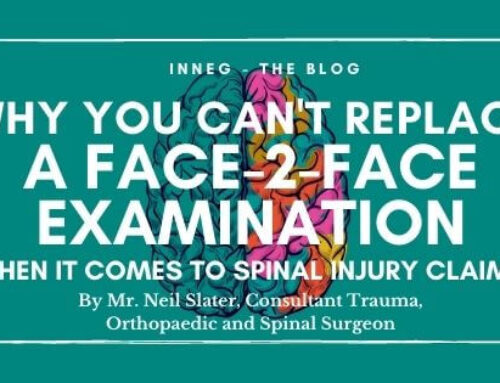 Why You Can't Replace a Face-2-Face Examination when it comes to Spinal Injury Claims
